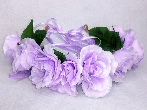 Pretty Purple, purple flower crown