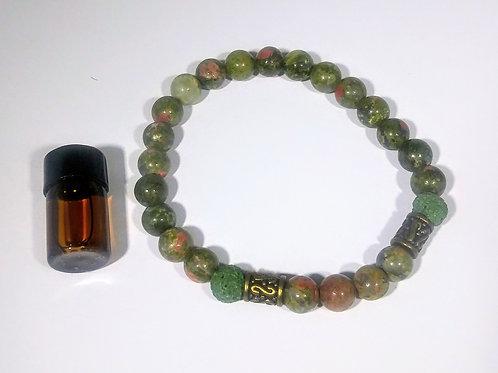 Artist Stone #109 Aromatherapy Bracelet