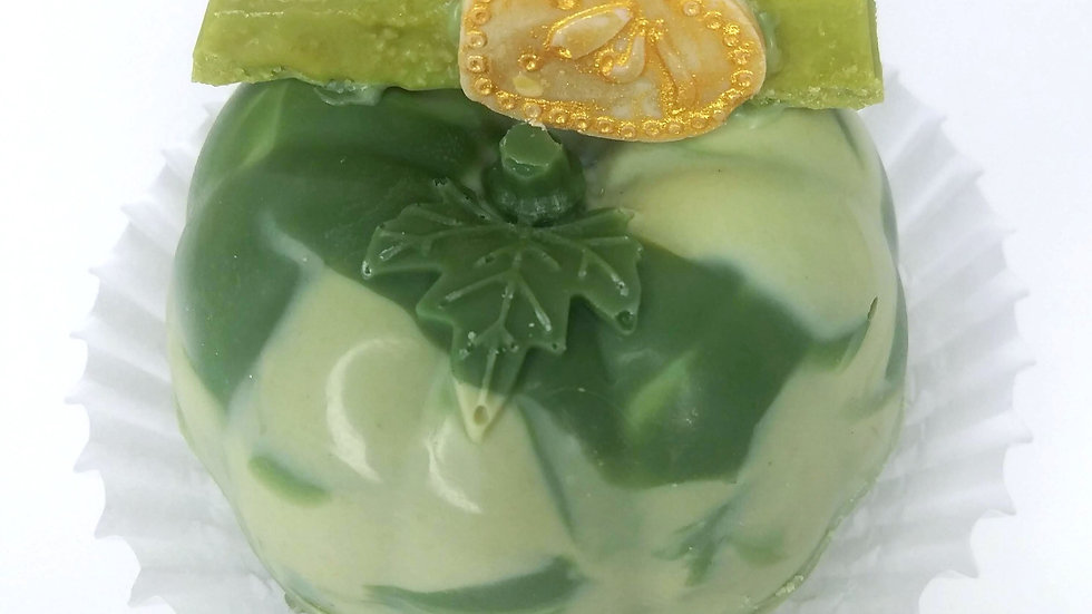 Matcha Green Tea Bomb (Pumpkin Shape)