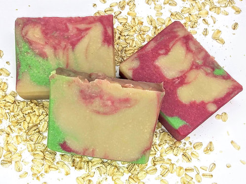 Black Cherry Amaretto Handcrafted Soap