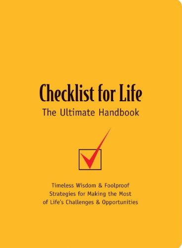 Check List for Life