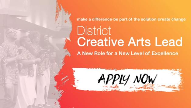 NCAM District Creative Arts Lead