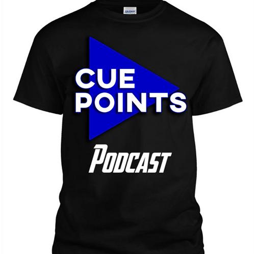 CuePoints Logo Tee