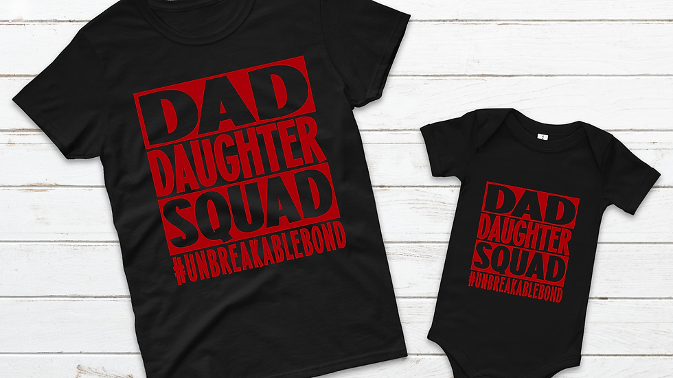 Dad/Daughter Squad Combo