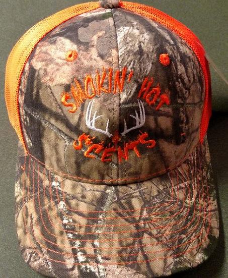 Smokin Hot Scents Orange Camo Hat