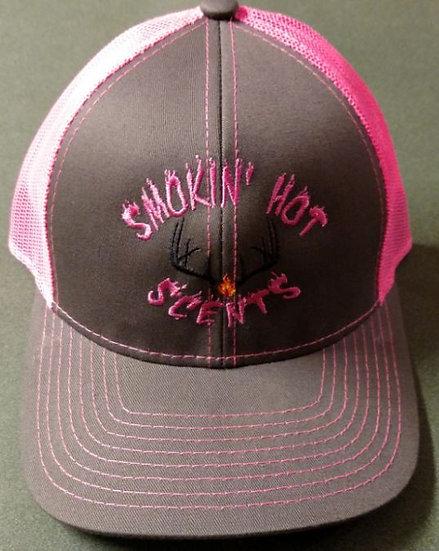 Smokin Hot Scents Gray/Pink Hat