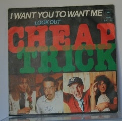CHEAP TRICK I WANT YOU TO WANT ME IMPORT
