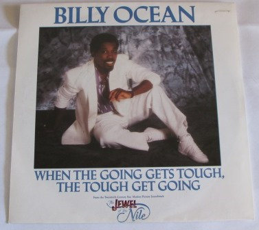 BILLY OCEAN WHEN THE GOING GETS TOUGH  SOUNDTRACK