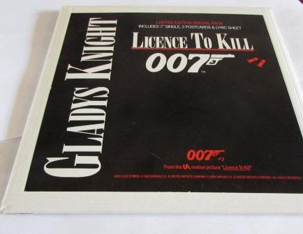 GLADYS KNIGHT LICENCE TO KILl ltd edition rare