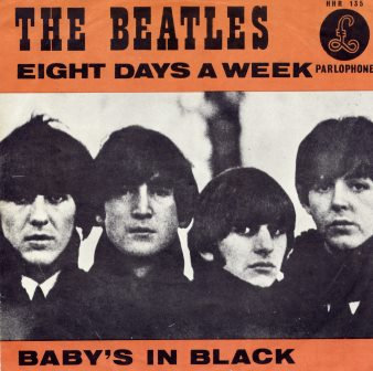 THE BEATLES EIGHT DAYS A WEEK (DUTCH IMPORT)