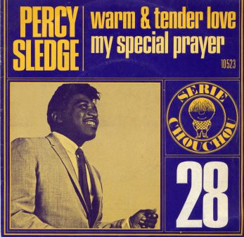 PERCY SLEDGE WARM AND TENDER LOVE IMPORT