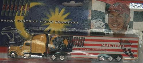 MICHAEL SCHUMACHER COLLECTION TRUCK MALAYSIA