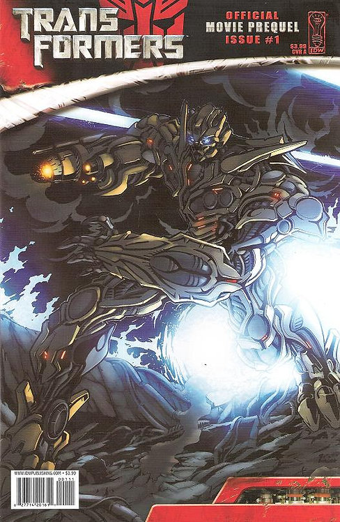 TRANSFORMERS OFFICIAL MOVIE PREQUEL ISSUE #1
