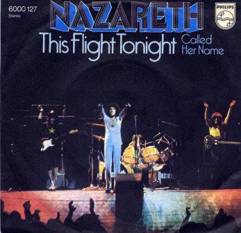 NAZARETH THIS FLIGHT TONIGHT GERMAN IMPORT