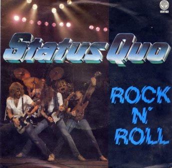 "STATUS QUO ROCK N ROLL  7"""