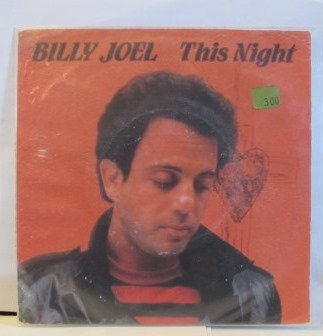 BILLY JOEL THIS NIGHT IMPORT