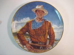JOHN WAYNE PLATE  THE DUKE