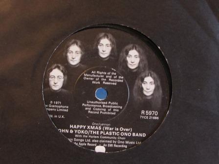 JOHN & YOKO / THE PLASTIC ONO BAND HAPPY XMAS
