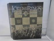 LORD OF THE RINGS CHESS ring binder