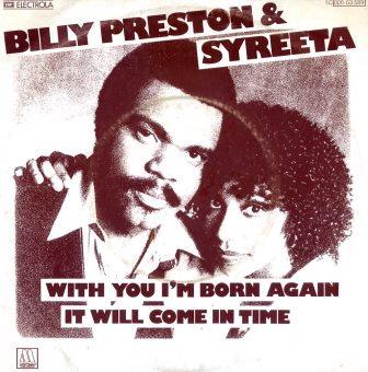 BILLY PRESTON & SYREETA WITH YOU I'M BORN  IMPORT