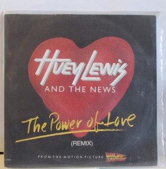 HUEY LEWIS THE POWER OF LOVE IMPORT JUKEBOX