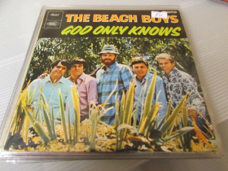THE BEACH BOYS GOD ONLY KNOWS EP