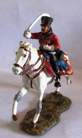 OFFICER FRENCH CHASSEURS A CHEVAL 1809