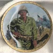 JOHN WAYNE PLATE SYMBOL OF AMERICAS FIGHTING FORCE