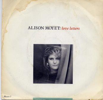 ALISON MOYET LOVE LETTERS