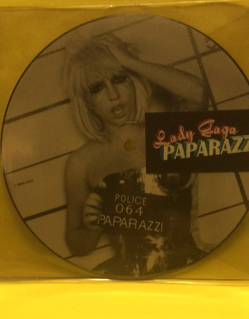 LADY GAGA PAPARAZZI PICTURE DISC