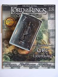 LORD OF THE RINGS CHESS PIECE ORC LIEUTENANT 18