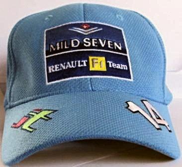 JARNO TRULLI RENAULT  CAP