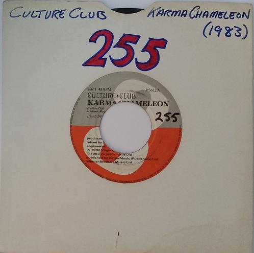 CULTURE CLUB KARMA CHAMELEON