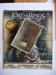 LORD OF THE RINGS CHESS PIECE THEODEN 9