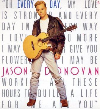 JASON DONOVAN EVERY DAY (I LOVE YOU MORE)