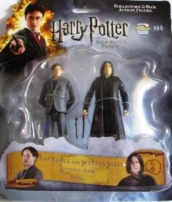 HALF BLOOD PRINCE TOM RIDDLE AND SEVERUS  FIGURES