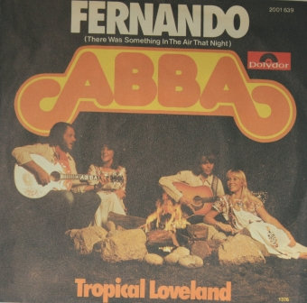 ABBA FERNANDO GERMAN IMPORT