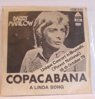 BARRY MANILOW COPACABANA IMPORT
