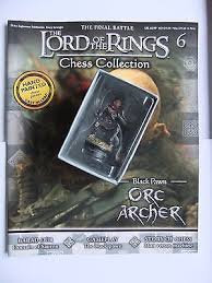 LORD OF THE RINGS CHESS PIECE ORC ARCHER 6