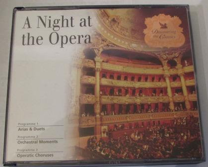 A NIGHT AT THE OPERA 3 DISC READERS DIGEST SET
