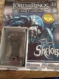 LORD OF THE RINGS CHESS PIECE SHELOB 35