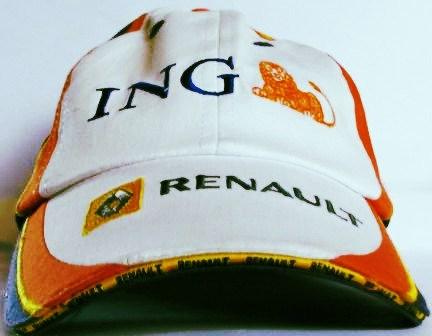 RENAULT F1   CAP