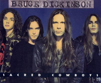 BRUCE DICKINSON SACRED COWBOYS