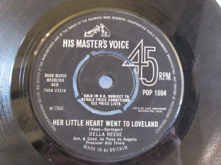 DELLA REESE HER LITTLE HEART WENT TO LOVE LAND