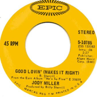JODY MILLER BABY, I'M YOURS AMERICAN IMPORT