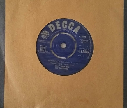 BILLY FURY AND THE TORNADOS NOBODY'S CHILD EP