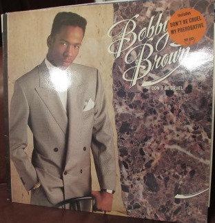 BOBBY BROWN DONT BE CRUEL NEAR MINT LP