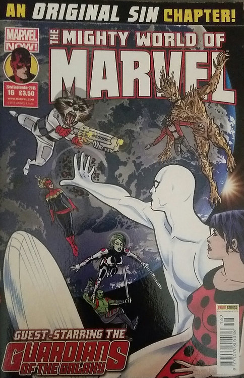 MIGHTY WORLD OF MARVEL 16