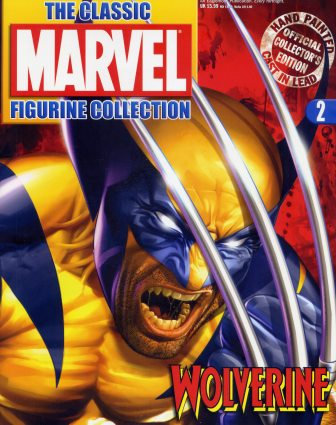 MARVEL FIGURINE COMIC ISSUE 2