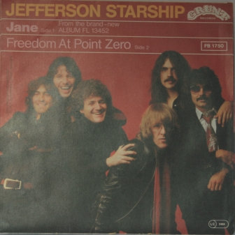 JEFFERSON STARSHIP JANE  GERMAN ISSUE
